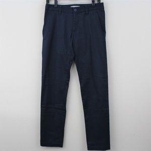 Issey Miyake Mens 2 30 x 31 Navy Casual Pants J246